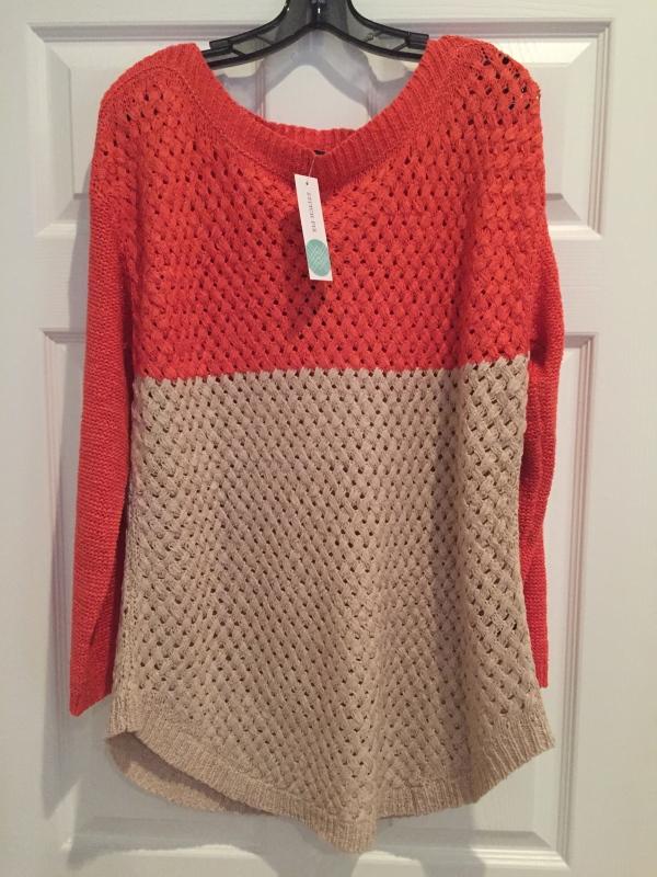 Parkhurst Jeffrey Waffle Knit Sweater