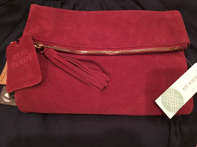 street-level-mina-suede-tassel-clutch
