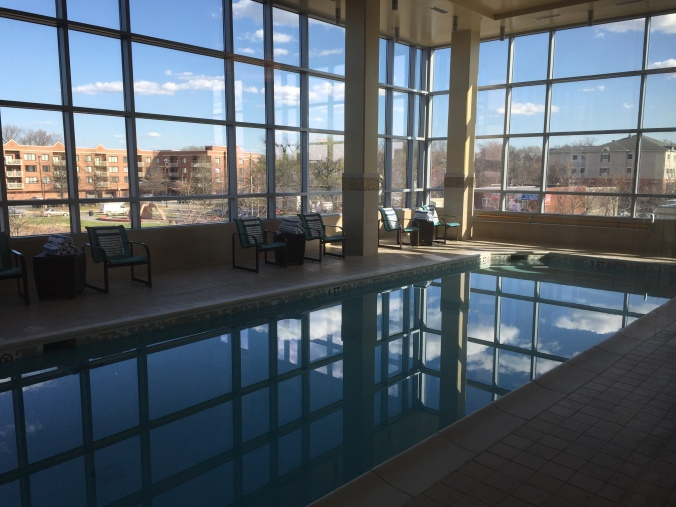 indoor pool Residence Inn Arlington